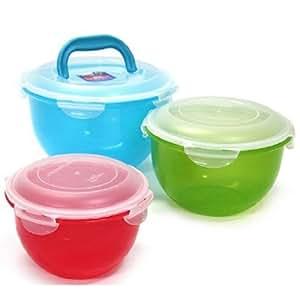 Locknlock 6 Pieces Set Salad Fruit Bowl