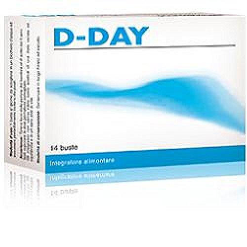 integratore alimentare d-day per l'equilibrio della flora batterica intestinale 14 buste