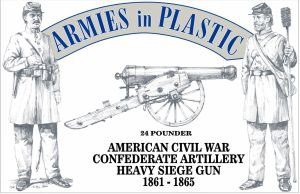 w//Cannon 1//32 Armies in Plastic AIP5479 5 American Revolution British Royal Regiment of Artillery Crew