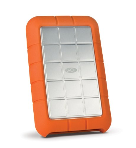 LaCie HDD ポータブルハードディスク 1TB USB3.0 FireWire800 Mac対応 Rugged Triple LCH-RG010T3