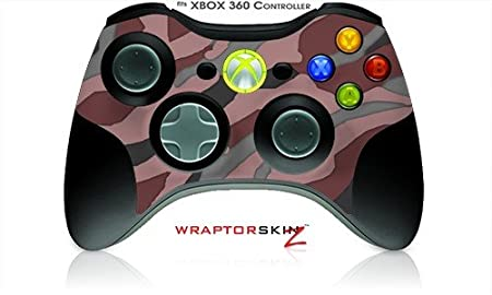 XBOX 360 Wireless Controller Decal Style Skin - Camouflage Pink (Controller Not Included)