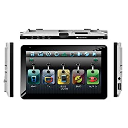 See Soundstream VR-738NBT Bluetooth Enabled Single-DIN In-Dash DVD Receiver with 7
