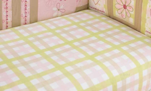 Love Fitted Sheet by Laura Ashley Baby