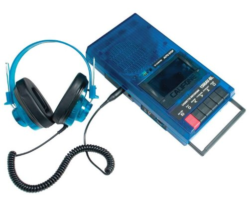 Califone Cassette Recorder Set front-1021155