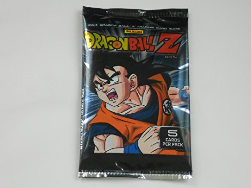 Dragon Ball Z 2014 Trading Card Game 5 Card Pack - 1