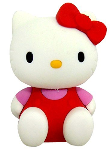 Ty Beanie Eraserz Hello Kitty - Sitting