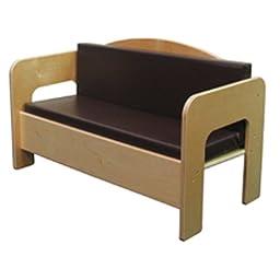 Natural Environments WD31600BN Sofa w/Brown Cushion
