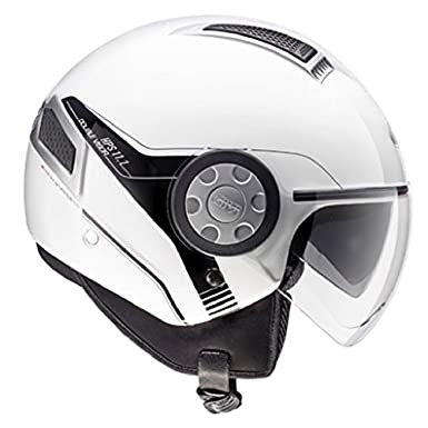CASQUE 11.1 AIR JET PLAIN WHITE GIVI 2014 SIZE XS