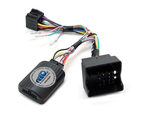 CAN-BUS Lenkrad Fernbedienung Adapter VW Amarok / EOS / Golf V / Golf VI / Jetta / Passat / Scirocco / Tiguan / Touran / Transporter für verschiedene Radios z.b Erisin und Navgear
