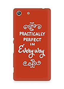 AMEZ practically perfect in every way Back Cover For Sony Xperia M5