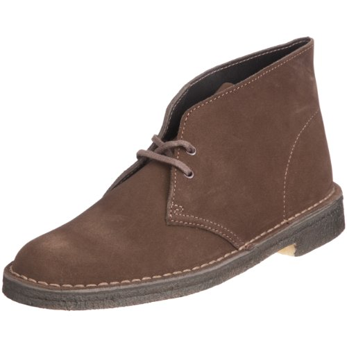 Clarks Originals 11176 Scarpe stringate Desert Boot, Uomo, Marrone (Brown Suede), 43
