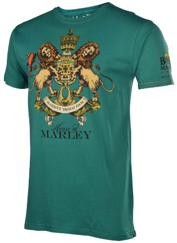 Billabong Men's House of Marley Shirt Green-Small
