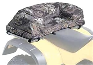 Atv Deluxe Padded Seat Rack Bag Black