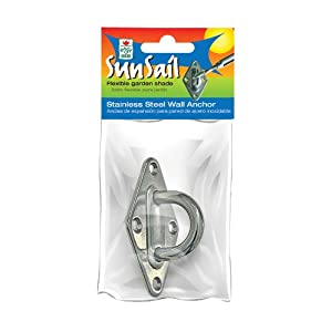 Easy Gardener Stainless Steel Wall Anchor