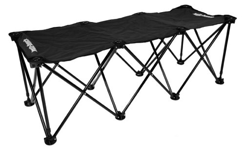 Insta-bench Classic 3-Seater Bench – Black