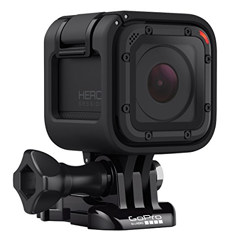 GoPro HERO Session - Videocámara deportiva de 8 MP (WiFi, submergible, 1030 mAh), color negro 189.00€