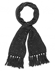 M&S Collection Sequin Embellished Knitted Scarf