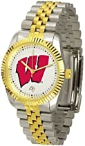 Wisconsin Badgers Suntime Mens Executive Watch - NCAA College Athletics