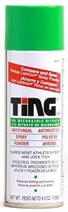 Ting Foot & Jock Itch, Antifungal Spray Powder 4.5 oz (128 g) by Insight Pharmaceuticals