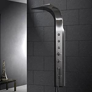 Stainless Steel Thermostatic Shower Panel