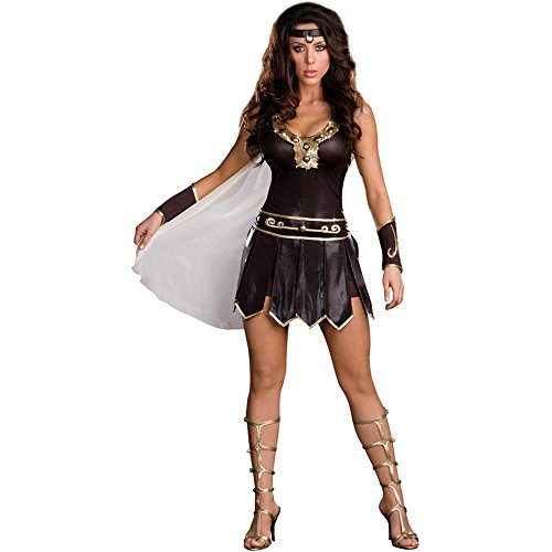Sexy Babe-A-Lonian Warrior Queen Adult Costume