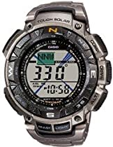 Casio PRG-240T-7ER Mens Pro Trek Illuminator Tough Solar Watch