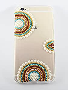 Kiintymys Handcrafted Luxury Designer Bling 3D Bridal Acrylic Case Cover For iPhone 5. iPhone 5S and iPhone SE Mobile Phones