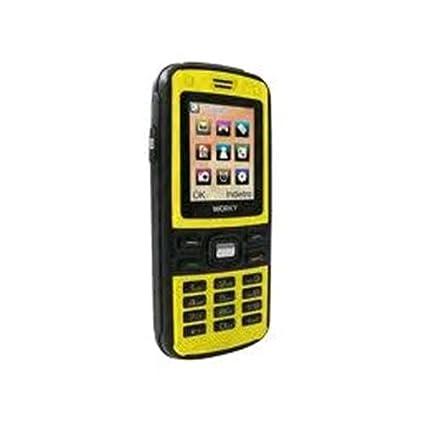 T�l�phone GSM ONDA WORKY JAUNE IMPORT IT