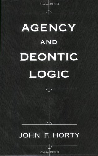 Agency and Deontic Logic