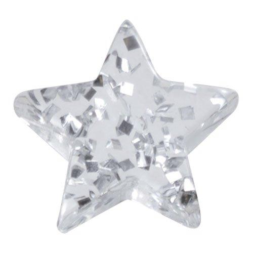 リトルプリティー 星ラメ 5個 LPー0506AK