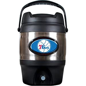NBA Philadelphia 76ers 3 Gallon Stainless Steel Jug by Great American Products
