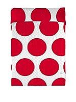 David Delfin Colcha Nippon (Rojo/Blanco)