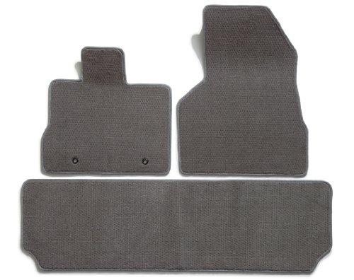 Nylon Carpet Black Coverking Custom Fit Front Floor Mats for Select Lincoln MKT Models