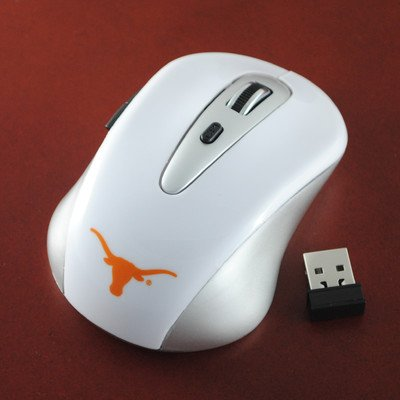 Ncaa Texas Longhorns Wireless Mouse front-35780