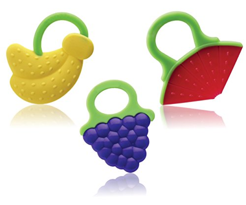 Best Quality Silicone Baby Teething Toys, Set of 3