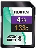 Fujifilm 4GB 133x Speed 20MB/sec Class4 SDHC SD Card