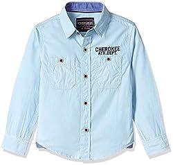 Cherokee Boys' Shirt (267982293_Blue_5 - 6 years)