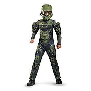 Disguise Master Chief Classic Costume, Large (10-12)