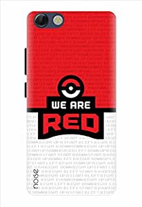 Noise Designer Printed Case / Cover for Panasonic P55 Novo / Animated Cartoons / We Are Red Design