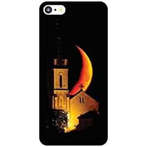 Apple iPhone 5C Back Cover - Half Moon Designer Cases