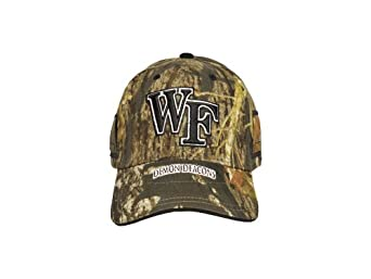 Click here to buy NCAA Wake Forest Demon Deacons EVOCAP Holds Eyewear in Place, Camo Color Cap by J-BREM.