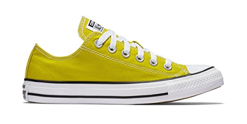 Converse Unisex Mens Chuck Taylor All Star Ox Fashion Sneaker Shoe, Bitter Lemon, 6.5