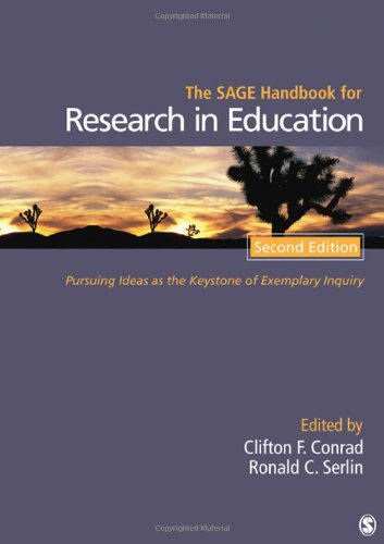 The SAGE Handbook for Research in Education: Pursuing...