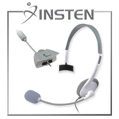 INSTEN Headset for Microsoft xBox 360, White