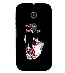 Printdhaba Quote D-5366 Back Case Cover For Motorola Moto E2