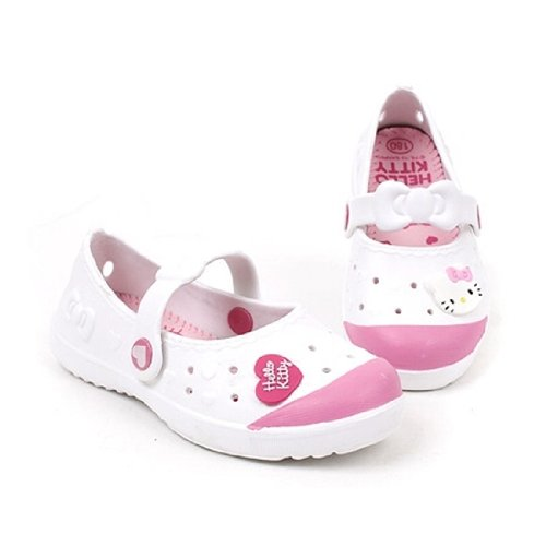 Hello Kitty Bony Lovely Kids Casual Shoes For Girls Clogs House School White Us Size 4