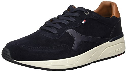 Tommy Hilfiger - R2285ush 1c1, Scarpe  Low-Top Uomo, Blu (Blu (MIDNIGHT 403)), 41