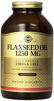 buy Solgar Flaxseed Oil Supplement, 1250 Mg, 250 Count