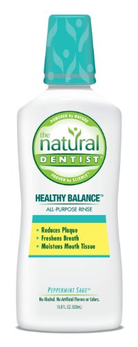 The Natural Dentist Healthy Balance All Purpose Rinse, Peppermint Sage, 16.9 Ounce