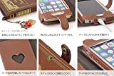 Disney The Little Mermaid Old Book Leather Case for iPhone 5 5S 5C from Japan